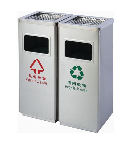 不锈钢垃圾桶10--垃圾桶|果皮箱|休闲椅|果屑箱厂家
